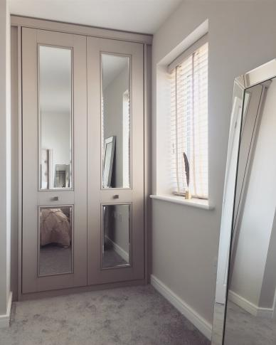 fitted wardrobes from homeideology